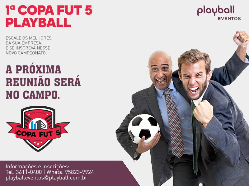 1ª Copa Inter Empresas Playball Ceasa